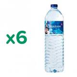 Pack 6x Agua Alcalina pH 9,5 Monchique 1,5 l