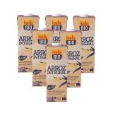 Pack 6L Bebida BIO Arroz Integral Isola Bio