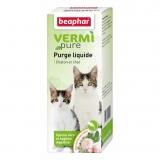 Tratamento antiparasitário purga natural para gatos