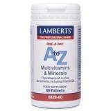 A-Z Multi Lamberts, 60 tabletas
