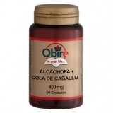 Alcachofa y Cola Caballo Obire, 60 cápsulas