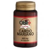 Cardo Mariano 400 mg Obire, 60 cápsulas