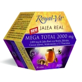 Jalea Real Royal Vit Mega Total con reishi y shiitake, 20 viales
