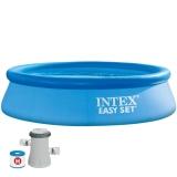 Piscina hexagonal Easy Set 305 x 76 cm con depuradora Intex