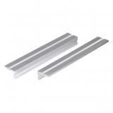 Wolfcraft 6171000 - 2 mordazas de tornillo de banco en aluminio