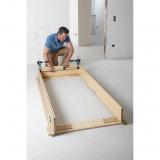 "Wolfcraft 3676000 - 1 kit de montaje de cerco de puerta ""Pro"""