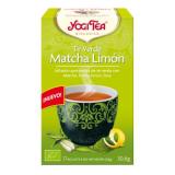 Yogi Tea BIO Té verde y Matcha limón, 17 bolsitas