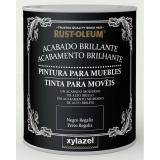Pintura para muebles brillante Xylazel Blanco hielo