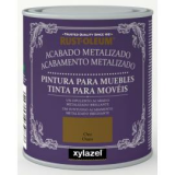 Pintura Metalizada Muebles Xylazel Plata