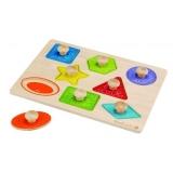 Juguete ECO Puzzle de formas, Everearth
