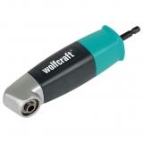 Wolfcraft 4688000 - 1 atornillador angular de 90° 153 x 32 x 32 mm