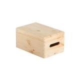 Caja de madera con tapa 30x20x14