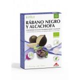 Rabanete negro e alcachofra Bio Depurativo Intersa, 20 ampolas