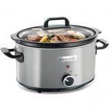 Crock Pot olla de cocción lenta CSC025X 3,5 L gris