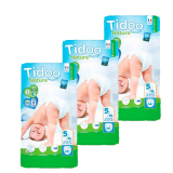 Pack Pañales T5 Junior (12/25 kg) Tidoo, 138 unidades