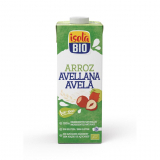 Bebida BIO Arroz e Avelã Isola Bio, 1 L